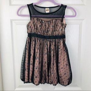 92c44bd577de3 Harajuku Mini Dress for Target Black Lace Mesh 7/8
